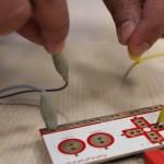 Makey-Makey - Le circuit électrique est fermé