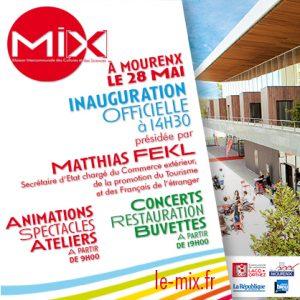 Inauguration du Mi[X]