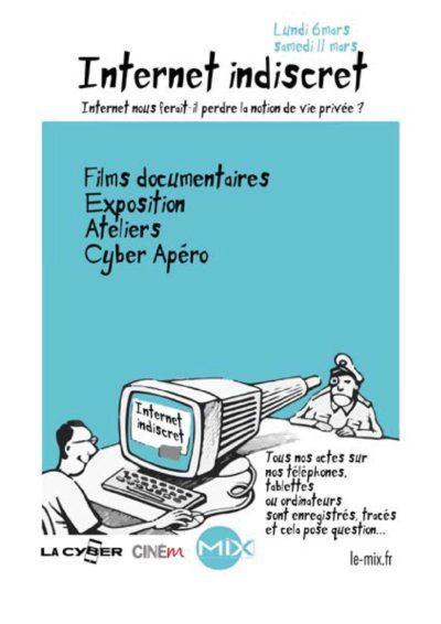 Flyer Internet Indiscret Recto