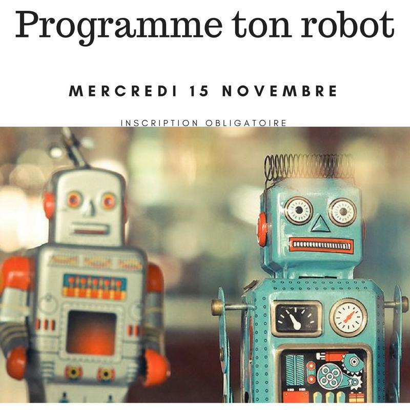 Programme ton robot