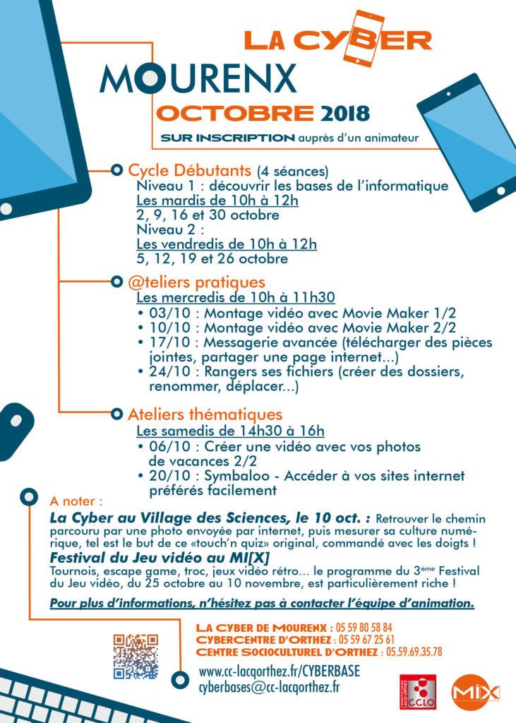 Programme LaCyber - Octobre 2018