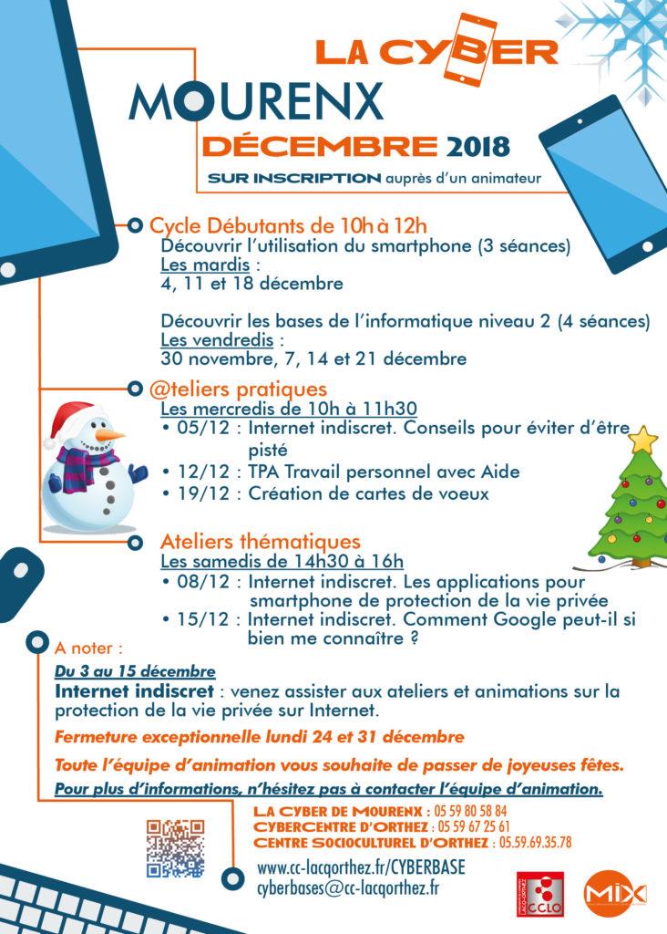 Décembre 2018 Mourenx