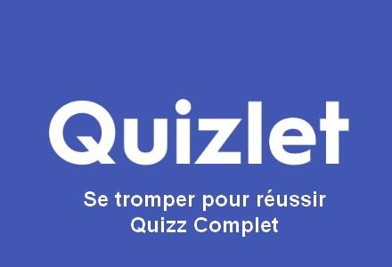 Qizzlet - Quizz complet