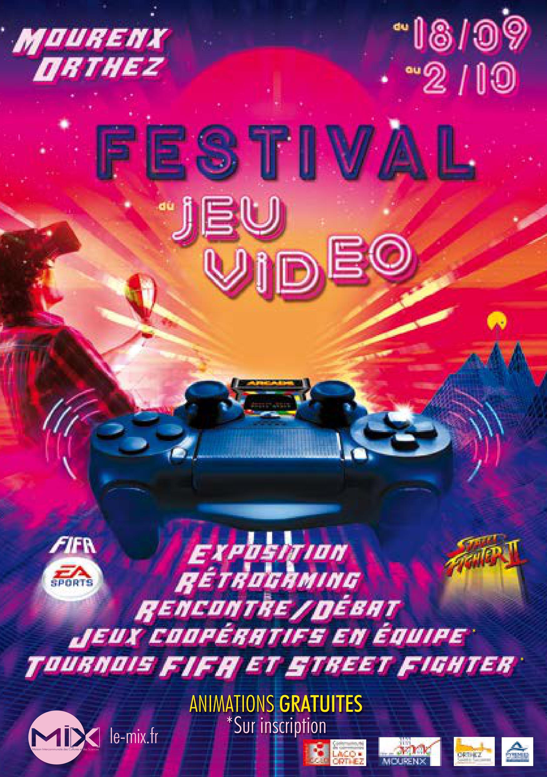 Festival du jeu vidéo 2019