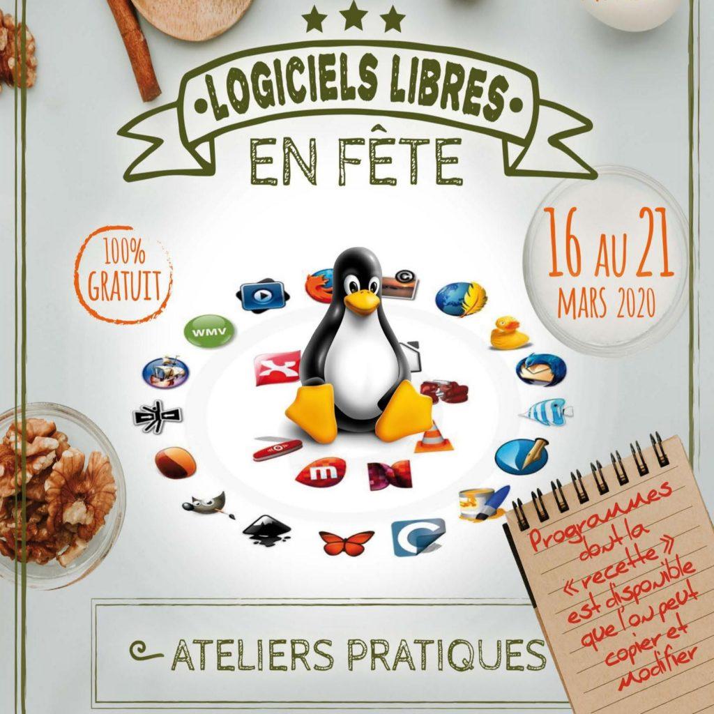 Logiciels Libres en fête du 16 au 21 mars 2020 - La Cyber - Mourenx